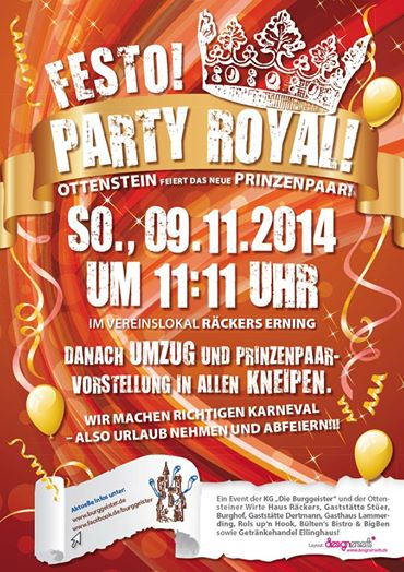 Party Royal 2014 -  Burggeister